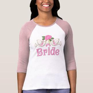 Dove Rose - Bride T-shirt