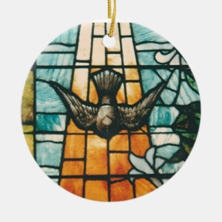 Dove Symbolizing the Holy Spirit Christmas Ornament