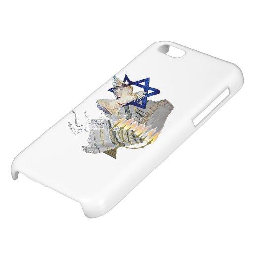 Dove Tallit Menorah iPhone 5C Covers