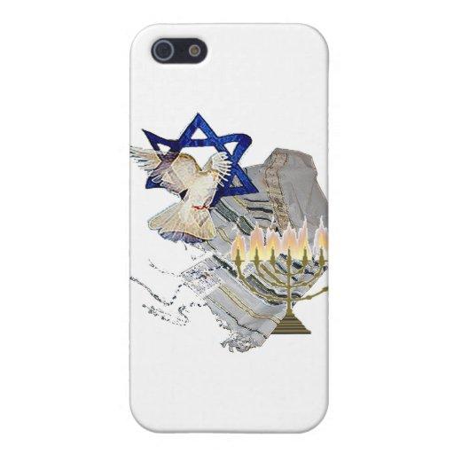 Dove Tallit Menorah iPhone 5 Cases