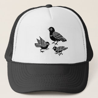 Dove with children trucker hat