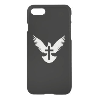 Dove with Cross iPhone 7 Case