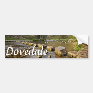 Dovedale, Derbyshire Peak District souvenir photo Bumper Sticker