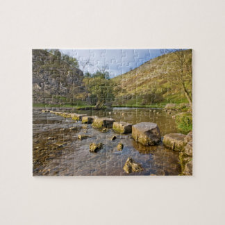 Dovedale, Derbyshire Peak District souvenir photo Jigsaw Puzzle