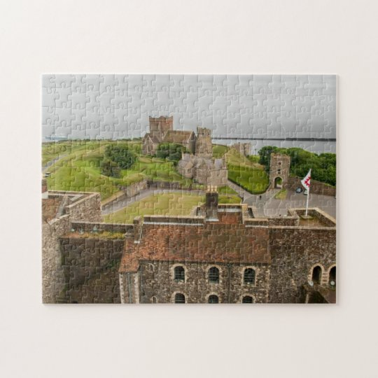 Dover Castle View Kent England Picture Jigsaw Jigsaw