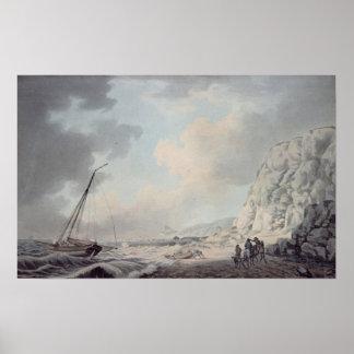 Dover Cliffs Poster