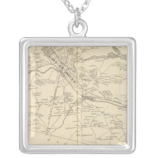 Dover, Strafford Co Silver Plated Necklace