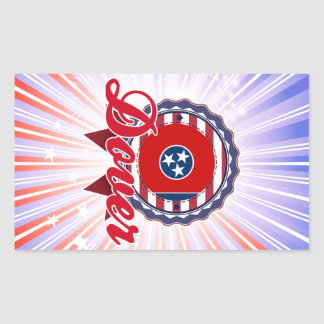 Dover TN Rectangle Sticker