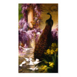 Doves and Peacocks in a Garden Pack Of Standard Business Cards