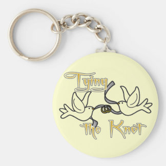 Doves Bride Tshirts and Gifts Key Chain