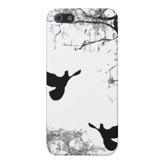 Doves - Chinese Painting iPhone Case iPhone 5 Cover