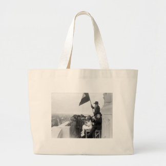 Doves of Peace: 1915 Jumbo Tote Bag