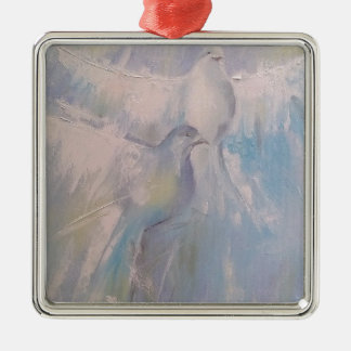 doves of Peace Christmas Ornament