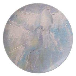 doves of Peace Dinner Plate
