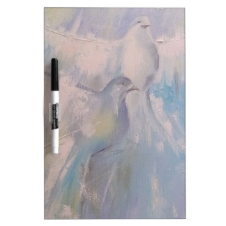 doves of Peace Dry Erase Board