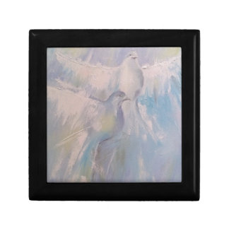 doves of Peace Small Square Gift Box
