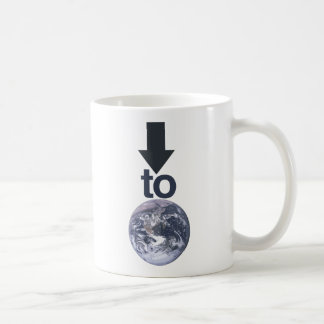 Down 2 Earth Basic White Mug