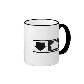 Down and Up Mugs