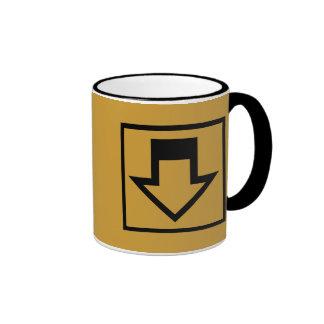 Down Arrow Mugs