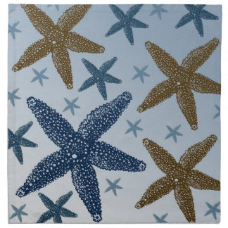 Down by the Sea Starfish Napkin