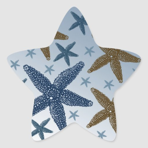 Down by the Sea Starfish Stickers