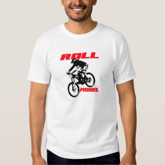 Down hill mountain biker t-shirt