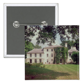 Down House, the home of Charles Darwin 15 Cm Square Badge