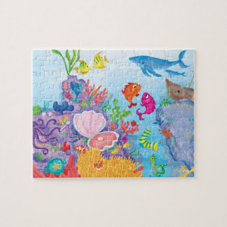 Down In The Ocean Jigsaw Puzzle