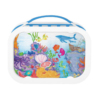 Down In The Ocean Lunch Boxes