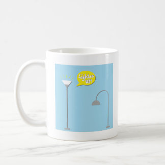 down lighter basic white mug