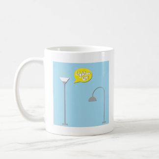 down lighter basic white mug