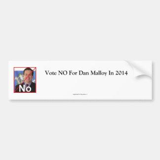 Down  malloy bumper sticker