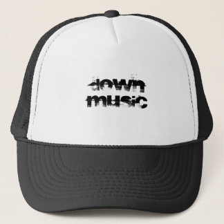 DOWN MUSIC TRUCKER HAT