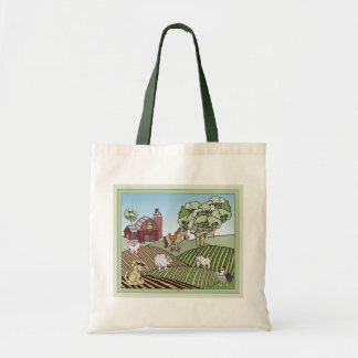 Down On The Farm 1 Budget Tote Bag