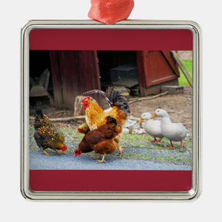Down on the Farm Christmas Ornament