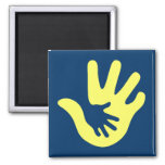 Down syndrome awareness fridge magnets