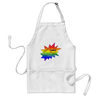 Down syndrome awareness items aprons