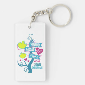 Down syndrome awareness key ring