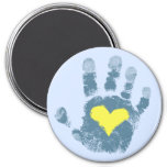 Down syndrome awareness refrigerator magnets