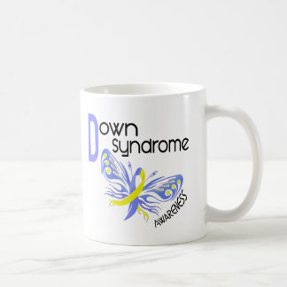 Down Syndrome BUTTERFLY 3.1 Coffee Mug