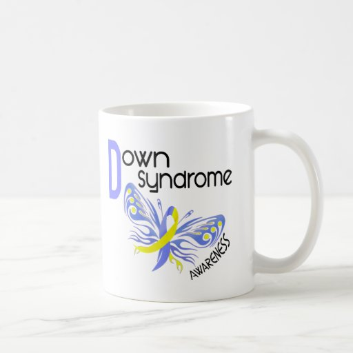 Down Syndrome BUTTERFLY 3.1 Mug