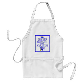 Down Syndrome Keep Calm and Carry ON Apron