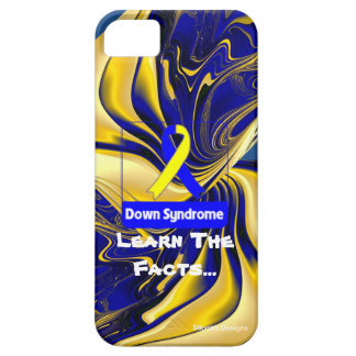 """""""Down Syndrome, Learn The Facts"""" Phone Case Case For The iPhone 5"""