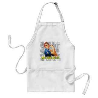 Down Syndrome Rosie WE CAN DO IT Adult Apron