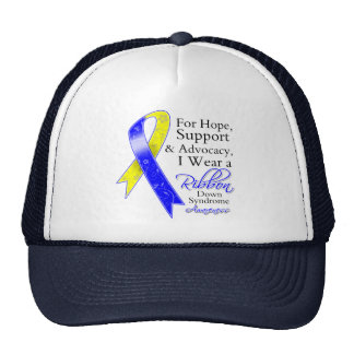 Down Syndrome Support Hope Awareness Trucker Hats