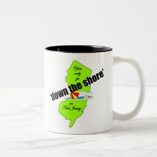 Down the Jersey Shore Mug