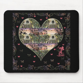 """Down The Paths Of Life We Walked""* Mouse Pad"