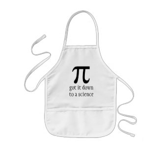 down to a science kids apron