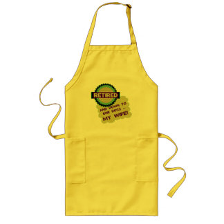 Down To One Boss Long Apron
