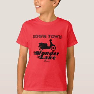 Down Town Kids' Hanes TAGLESS® T-Shirt